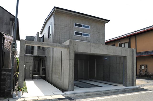 注文住宅 京都 京都市 滋賀 滋賀県 北区 鉄筋コンクリート 打ちっぱなし