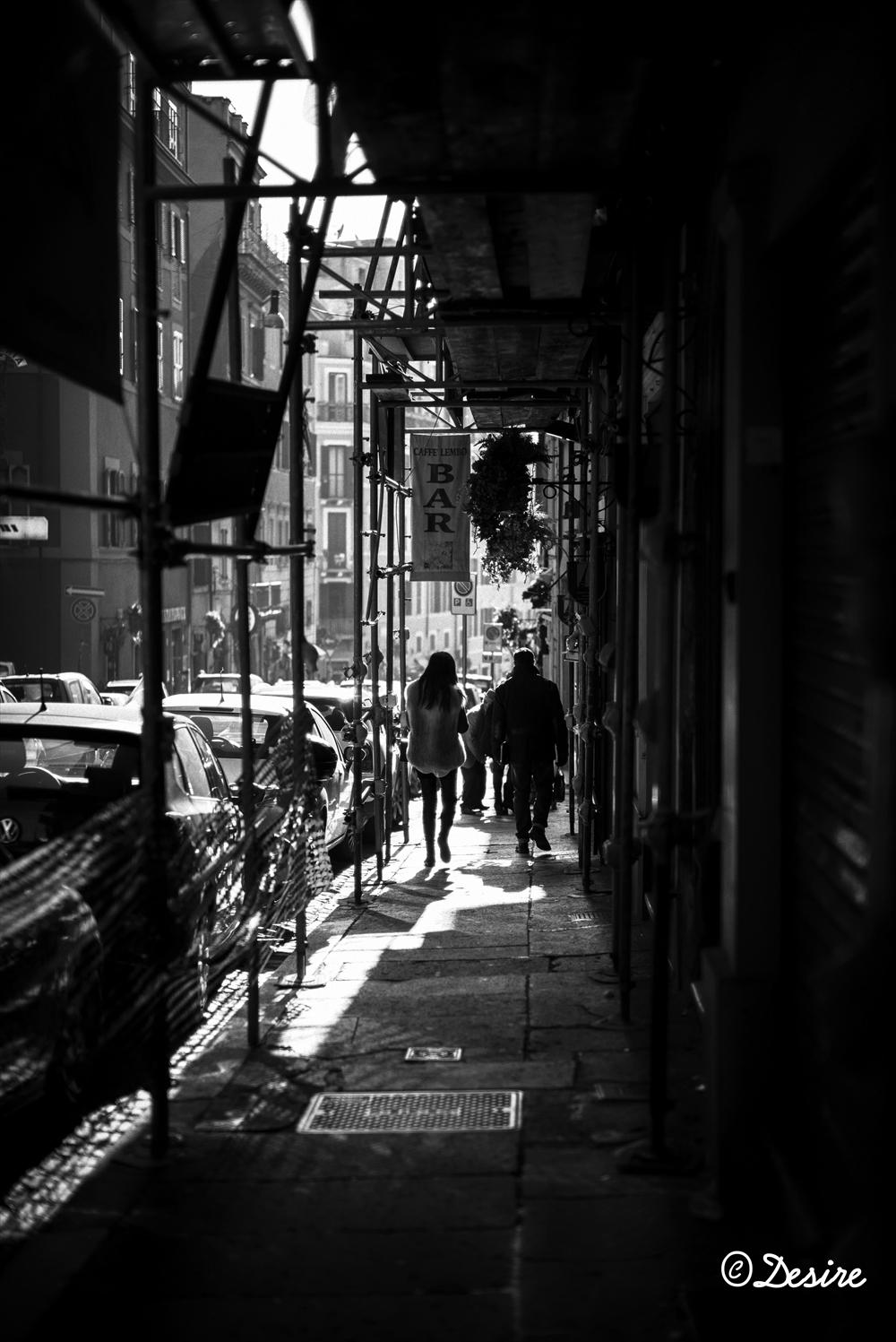 ローマの坂道