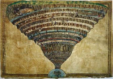 『インフェルノ』 ボッティチェリの『地獄の見取り図』のなかに暗号が……。
