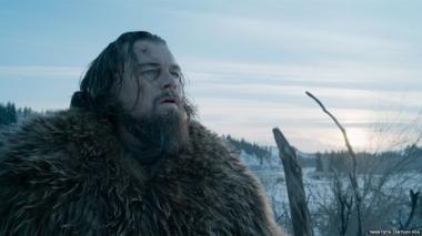 アレハンドロ・ゴンサレス・イニャリトゥ 『レヴェナント:蘇えりし者』 この映画でアカデミー賞主演男優賞を獲得したレオナルド・ディカプリオ。
