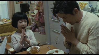『永い言い訳』 灯役の白鳥玉季。この子は厄介な女の子で、わがままで兄貴の真平をも困らせる。