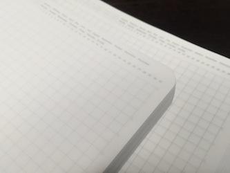 365デイズノート - 罫線の薄さに個体差その1
