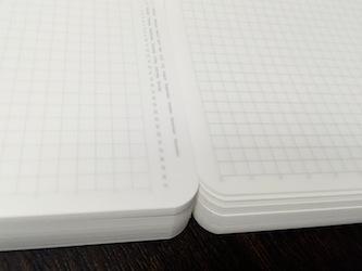 365デイズノート - 罫線の薄さに個体差その2