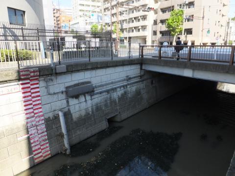 神田川取水施設・放流口
