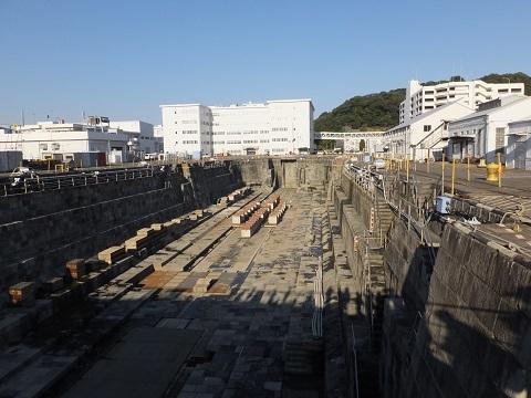 横須賀基地第2号ドライドック