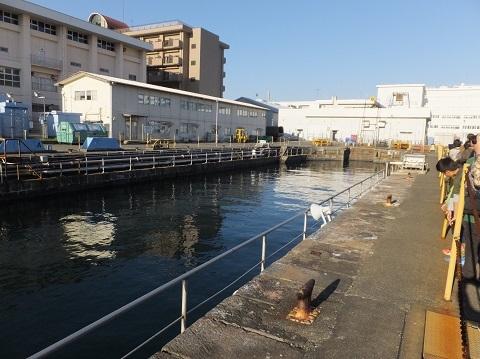 横須賀基地第3号ドライドック