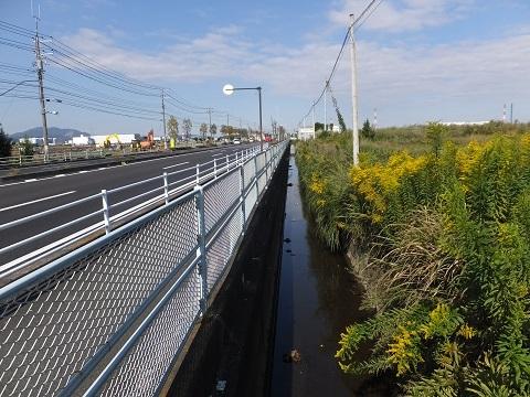 R129沿い歌川分流排水路