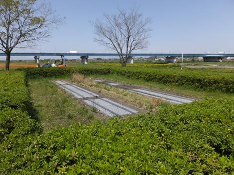 平瀬川浄化施設点検口
