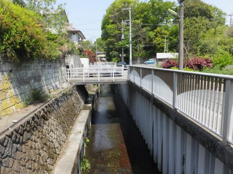 谷沢川・矢川橋下流