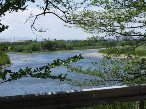 多摩川・多摩川台公園付近
