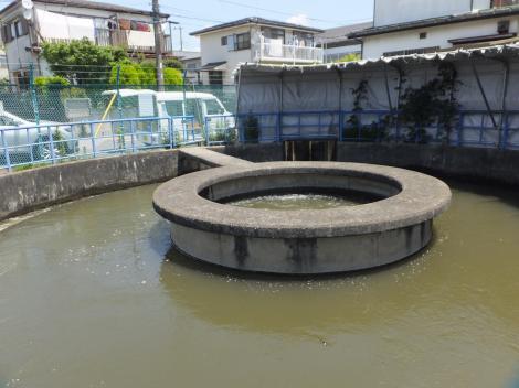 湖北台円筒分水