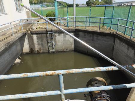 滝下揚水機場吸水池