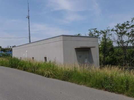 手賀川浄化施設・中央操作室
