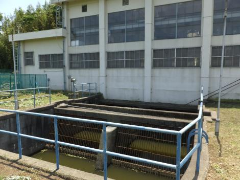泉揚水機場吸水井