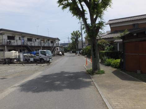 横須賀水道みち・厚木市金田