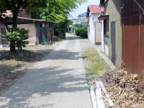 牛久保用水・厚木市金田