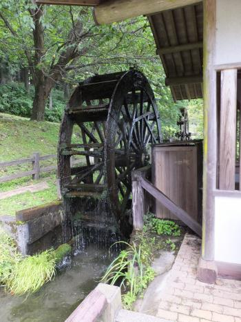杉並木公園カラクリ水車