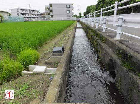 二ヶ領用水・川原堀(登戸雨水幹線)