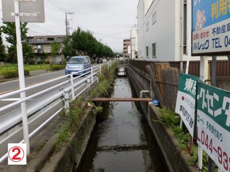 二ヶ領用水・川原堀下流(登戸雨水幹線)