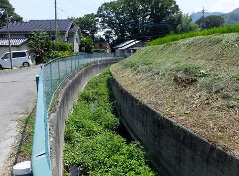 徳島堰と交差する河川