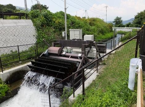 徳島堰入戸野第三発電所