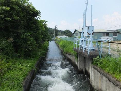 徳島堰・桐沢付近