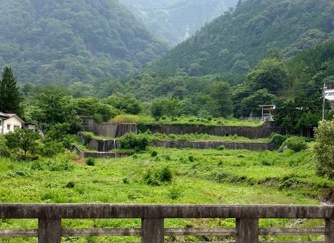 小桐橋より桐沢上流を望む