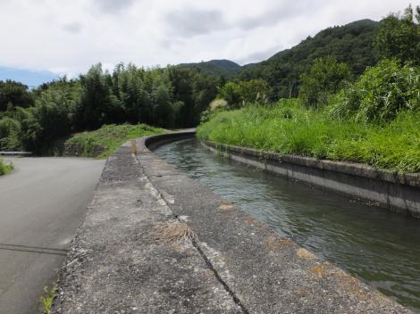 徳島堰・八幡沢上流