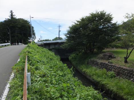 徳島堰・白沢と交差