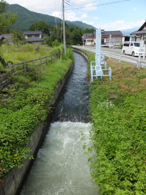 徳島堰・甘利沢暗渠上流
