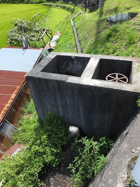 徳島堰の分水桝