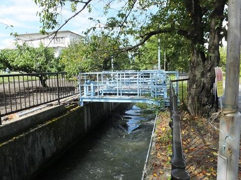 徳島堰・第二調整池取水堰