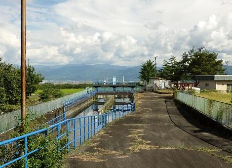 釜無川右岸第二調整池