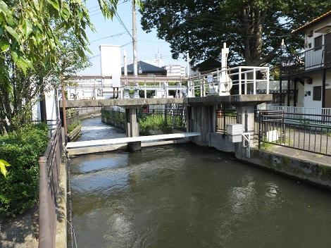 長野堰・新井堰水門