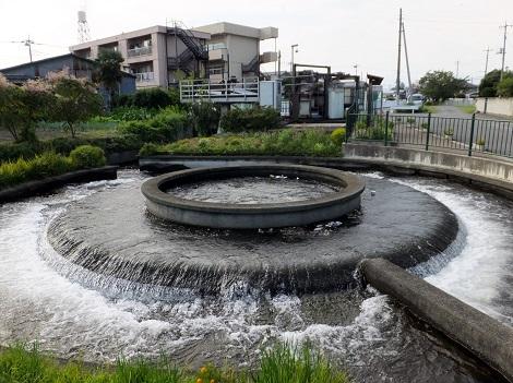 長野堰・円筒分水堰