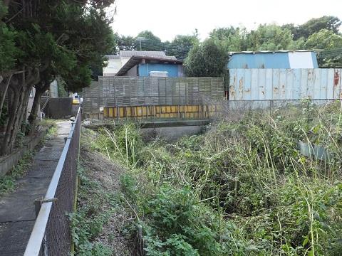 相模川右岸幹線用水路(西部用水)愛甲隧道入り口