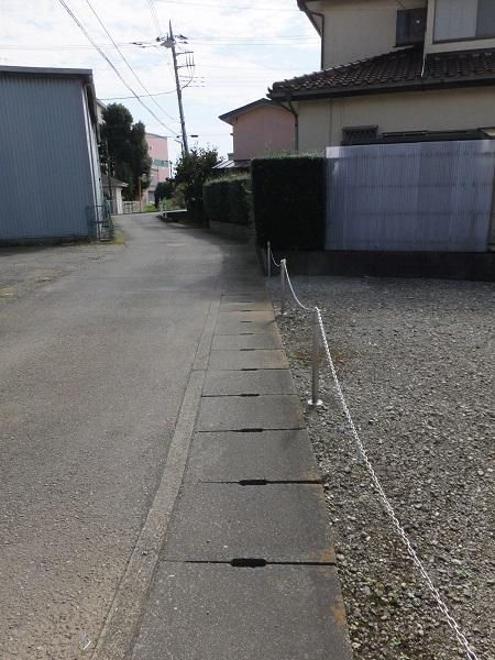 暗渠排水路・厚木市金田