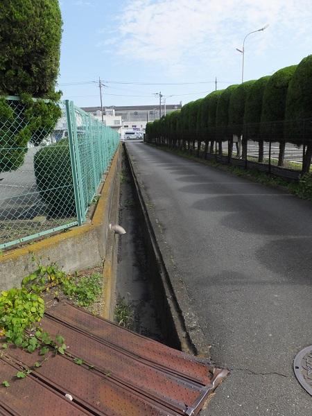 開渠排水路・厚木市金田
