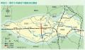 神田川・環七地下調整池位置図