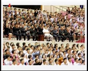 20160530 金正恩 バスケット観戦mp4_000042008