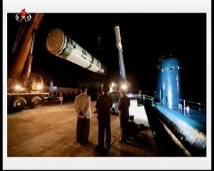20160825 주체조선의 핵공격능력의 일대 과시 경애하는 김정은동지의 지도밑에 전략잠수함 탄도탄수중시험발사가 성공적으로 진mp4_000050000