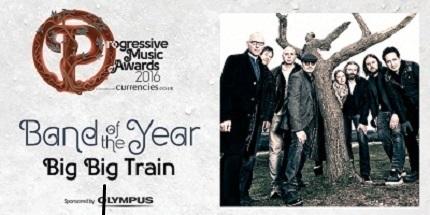 BBT PROG AWARDS 2016 Band of the Year
