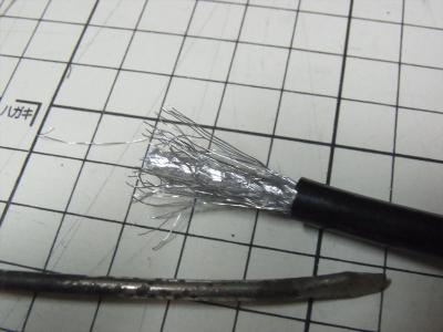 変換名人 TFTEC アンテナケーブル(4C) 30cm F4-30X2 修理