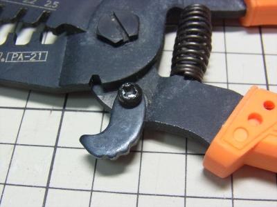 ENGINEER PA-21 精密圧着ペンチエンジニア ピン QIコネクタ 2550 日圧 XH NH VH PA Molex ニューミニフィット AMPユニバーサルメイテンロック