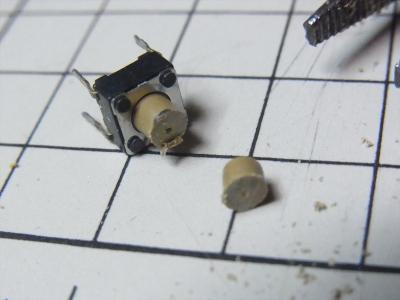 USB サンワサプライ SANWA SUPPLY 首ふり扇風機 USB-TOY56BK (ブラック) 強 ボタン 交換 壊れる スイッチが入らない 修理 6mm角タクトスイッチ
