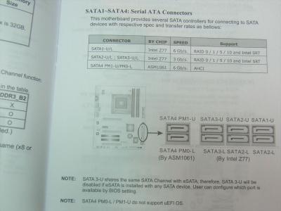 ASATA SSD Premier SP550 240GB 発熱 ASP550SS3-240GM-C ASP550SS-240GM Micron NW784 Silicon Motion SMI SM2256K012 BIOSTAR TZ77XE4 SATA