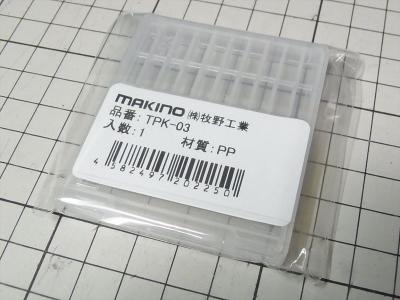 牧野工業 ねじ切りタップケース TPK06 TPK-06 TPK03 TPK-03 先端ビット 六角軸 6.35mm
