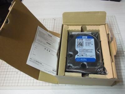 WesteanDigital HDD WD30EZRZ amazon 梱包 ダンボール