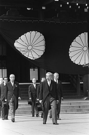昭和天皇 靖国神社