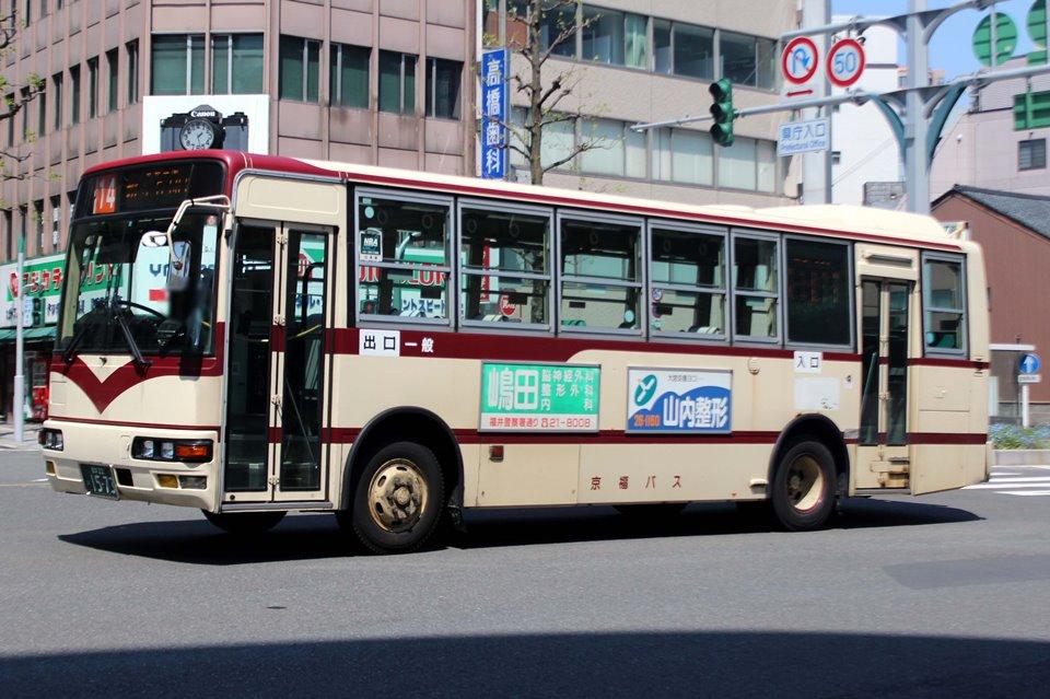 京福バス か1573